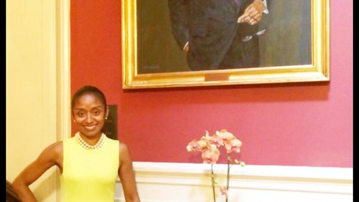 Tatia Adams Fox Serves As Etiquette Expert At The Harvard Club of New York