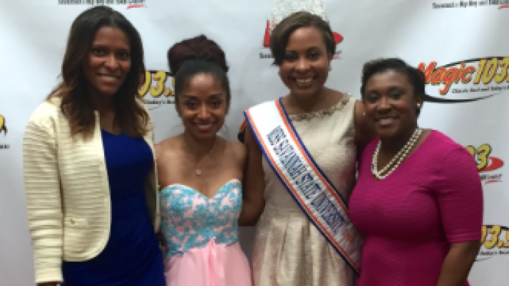 New School of Etiquette's Founder & CEO, Tatia Adams Fox speaks at Father Daughter Ball
